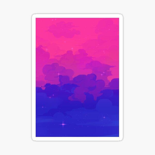 Bi Pride Sky 2021 Sticker
