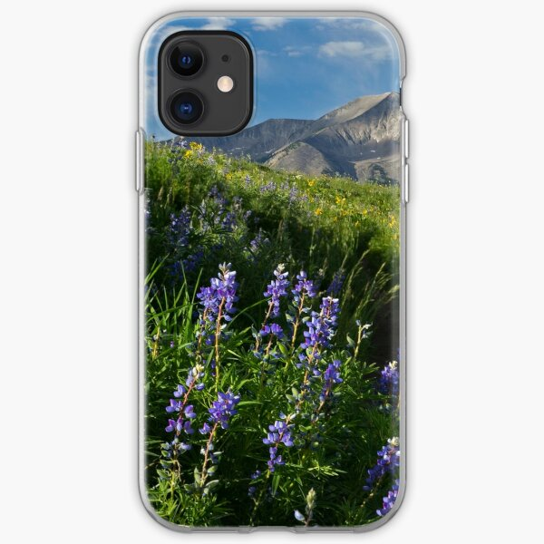 Mountain Lupines iPhone Soft Case