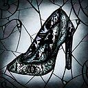 Glass Slipper Poster By Magic Mirror Redbubble