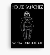 House Sanchez - Game of Thrones x Rick & Morty Mashup Canvas Print
