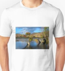 Bridge of Flowers in Shelburne Falls, Massachusetts. Unisex T-Shirt
