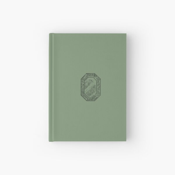 Vintage Lucky Green Jade Hardcover Journal