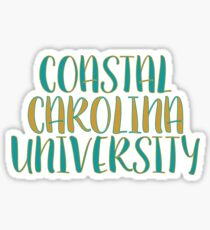 Coastal carolina university stickers redbubble coastal carolina university sticker sciox Gallery