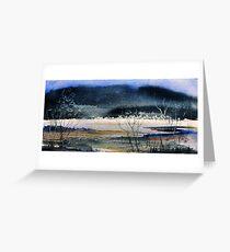 Creative Landscape Greeting Card