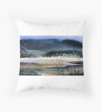 Creative Landscape Throw Pillow