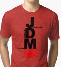 JDM Rising Sun (2) Tri-blend T-Shirt