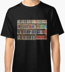 Camiseta clásica Biblioteca