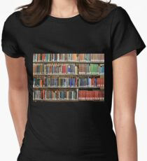 Library  Women's Fitted T-Shirt