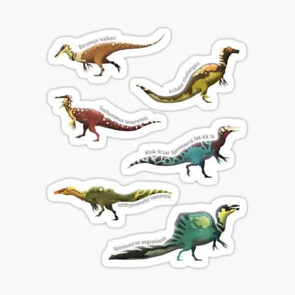 Spinosaur Series, Sticker Edition Sticker