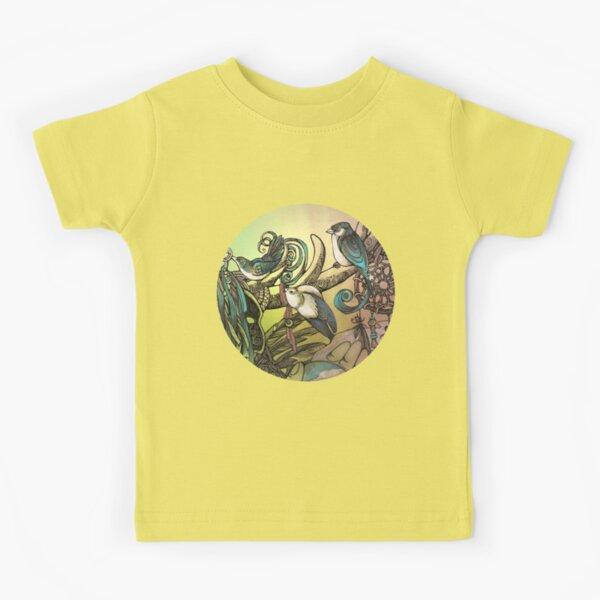 Three birds Kids T-Shirt