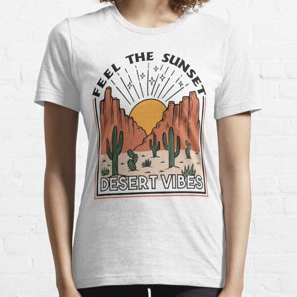 Desert Vibes Retro Essential T-Shirt