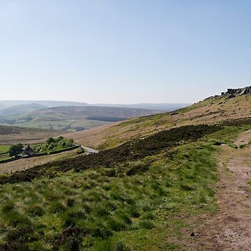 Moorland Path - Stanage Edge by cofiant