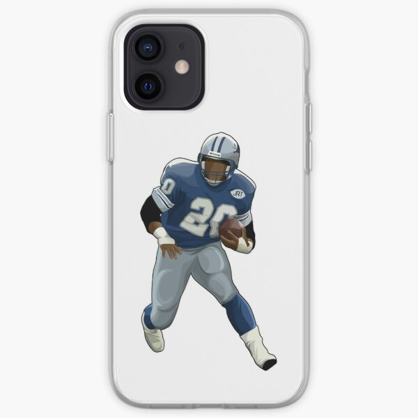 Barry Sanders Take The Ball iPhone Soft Case