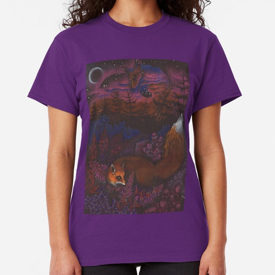 Twilight Fox Classic T-Shirt