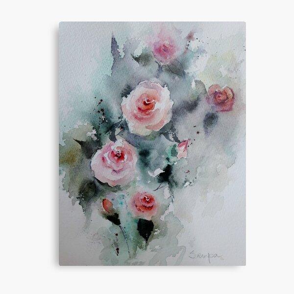 Roses Metal Print