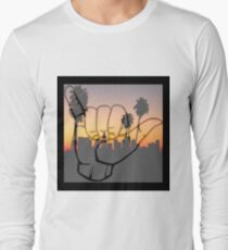 Shaka City Sundown  Long Sleeve T-Shirt