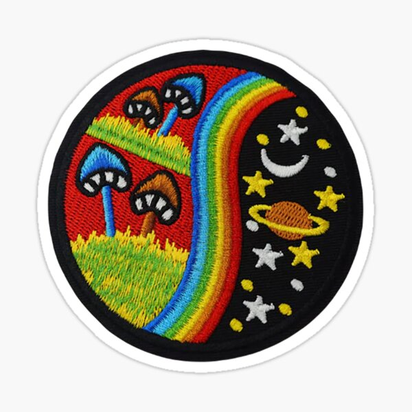 Cute Art Patch | Embroidered Patches | Iron On Patch | Iron On Embroidered Patch Sticker
