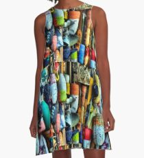 Buoys and Props A-Line Dress