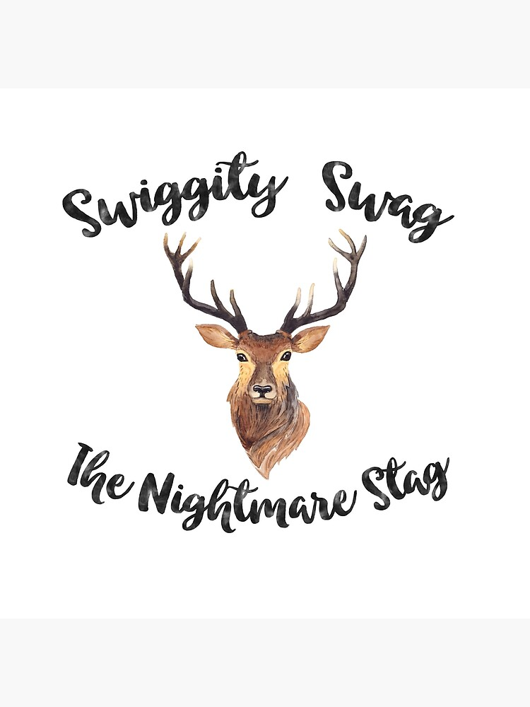 Swiggity Swag the Nightmare Stag by KatieBuggDesign