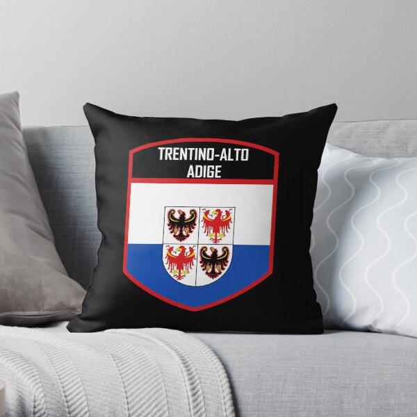 Trentino-Alto Adige Italy Flag Emblem Throw Pillow