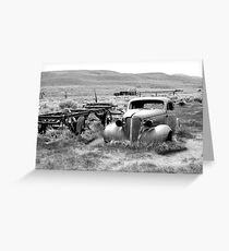 Ghost Town Transportation Greeting Card