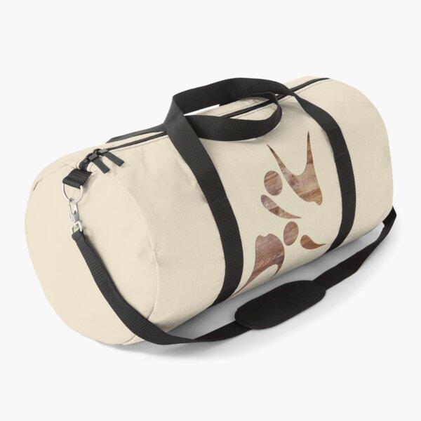 AIKIDO JUDO CARVED WOOD Duffle Bag