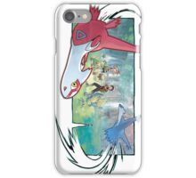 pokemon latios and latias iPhone Case/Skin