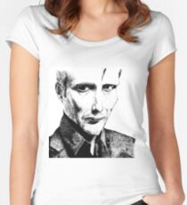 Mads Mikkelsen Women's Fitted Scoop T-Shirt