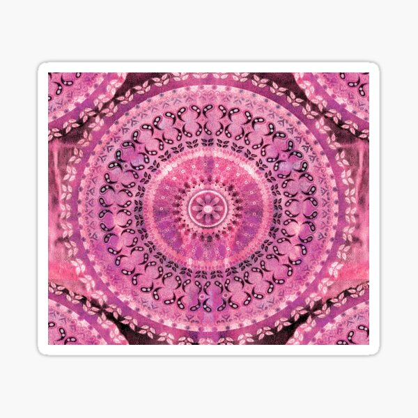 Rose Mandala Sticker