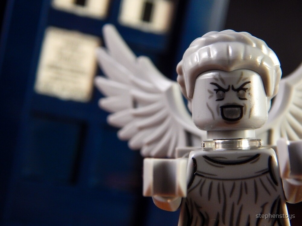 Weeping Angel by stephenstoys