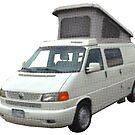 Volkswagen camper Eurovan campgear by Veera Pfaffli