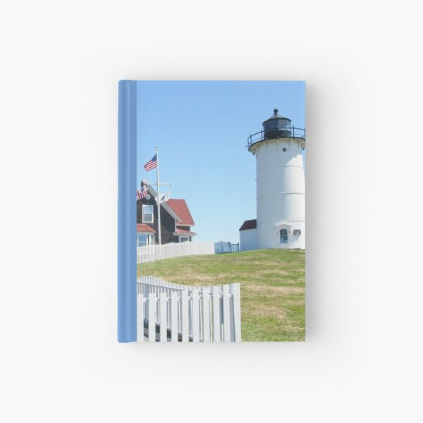 Nobska Lighthouse - Woods Hole - Massachusetts - USA Hardcover Journal