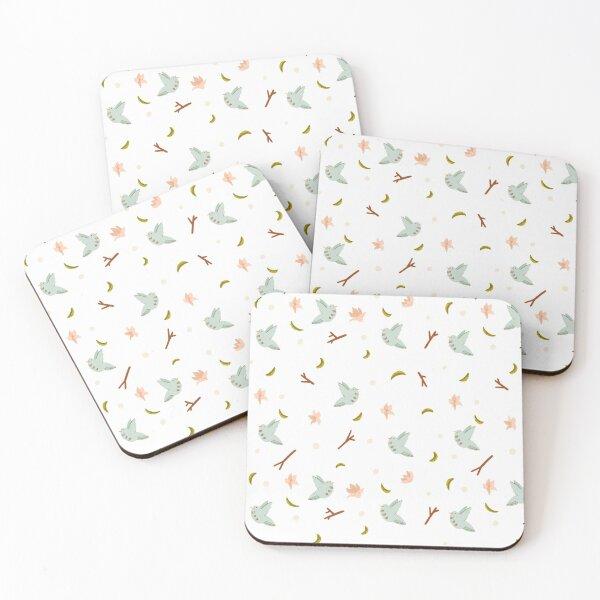 Magnolias Coasters (Set of 4)