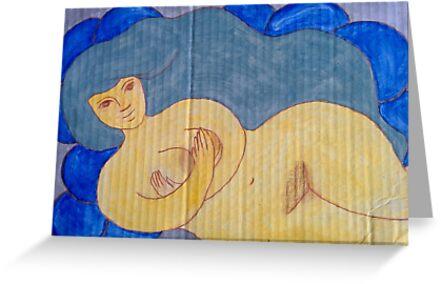 Water Goddess  by GoddessSpiral