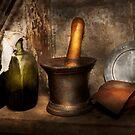 Pharmacy - Pestle - Home remedies by Michael Savad