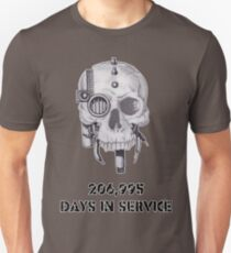 Servo Skull Days In Service Unisex T-Shirt