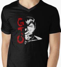<GTO> Onizuka Men's V-Neck T-Shirt