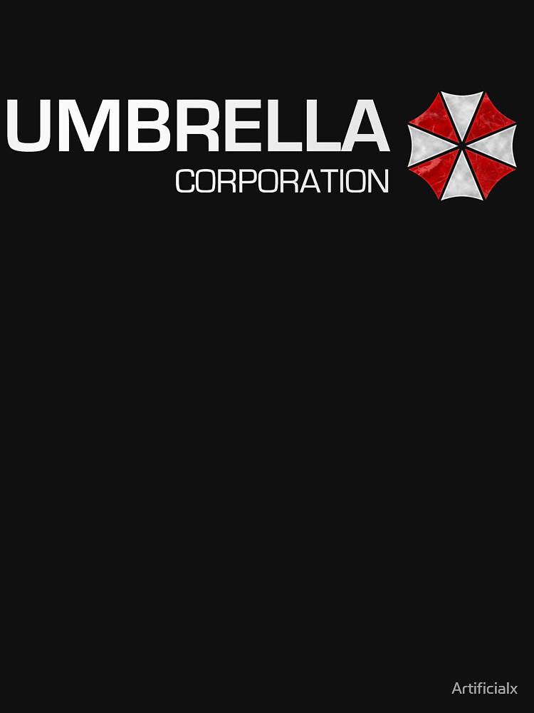Umbrella Corps - White text | Unisex T-Shirt