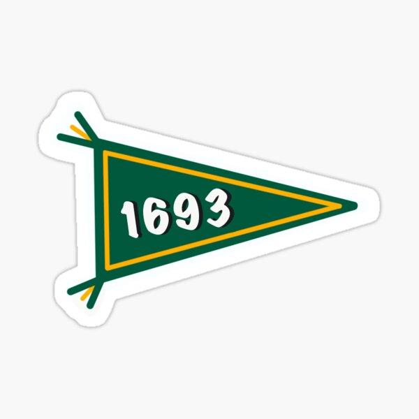WM 1693 Flag Mini Sticker