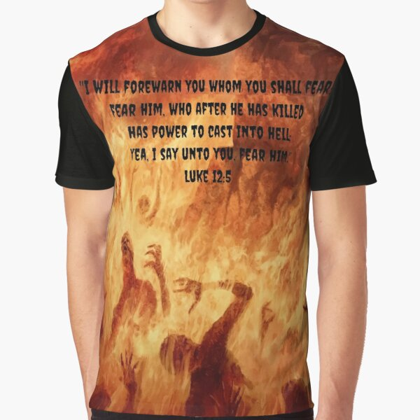 JESUS SAVES FROM HELL Graphic T-Shirt