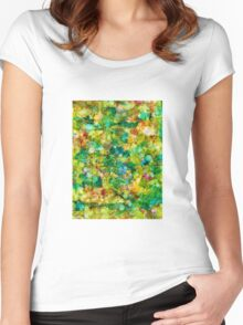Agate Women's Fitted Scoop T-Shirt