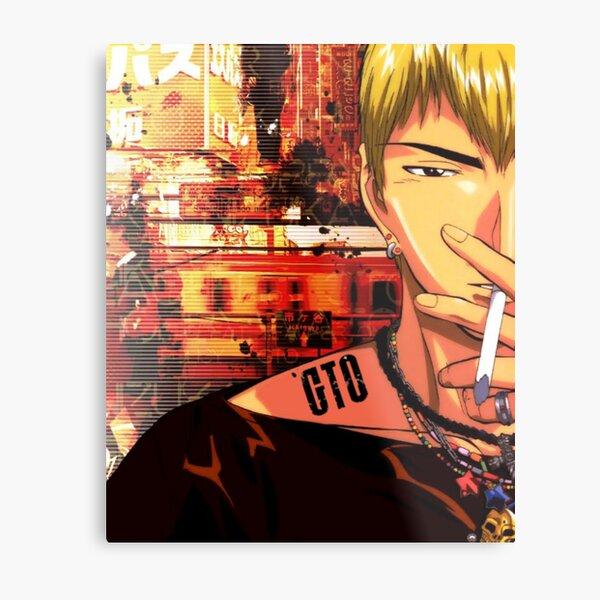 <GTO> Gto Graphic Metal Print
