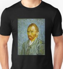 'Self Portrait' by Vincent Van Gogh (Reproduction) T-Shirt
