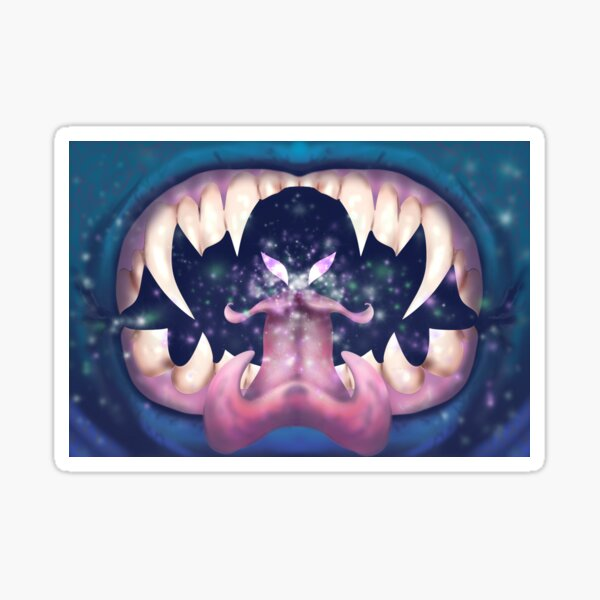 Monster Breath Sticker
