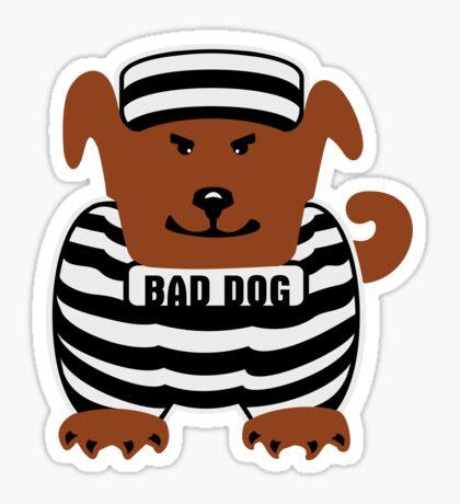 Bad Dog VRS2 Sticker
