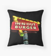 MAN CAVE THROW PILLOW SERIES  - In-N-Out Berger Throw Pillow