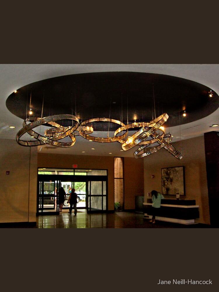 Hilton Hotel Lobby, Parsippany NJ USA by amberwayne52
