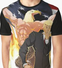 Trump's Bizarre Election - Jojo's Bizarre Adventure Trump Graphic T-Shirt