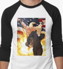 Trump's Bizarre Election - Jojo's Bizarre Adventure Trump Men's Baseball ¾ T-Shirt