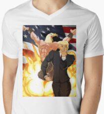 Trump's Bizarre Election - Jojo's Bizarre Adventure Trump Men's V-Neck T-Shirt